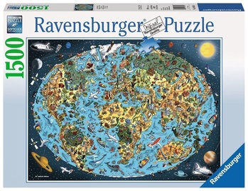 Ravensburger Puzzle Cartoon Earth 1500pcs