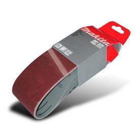 Slīpēšanas lente Makita P-37203, K100, 533x76 mm, 5 gab.