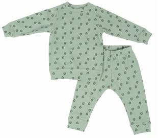 Lodger Baby Pajama Sleeper Rib Silt Green 86