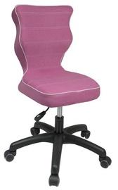Bērnu krēsls Entelo VS08 Black/Pink, 370x350x830 mm