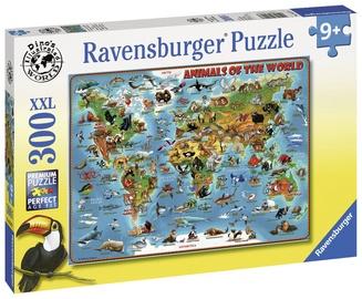 Puzle Ravensburger Animals Of The World 132577, 300 gab.