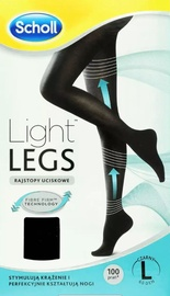 Scholl Light Legs 60 Black L