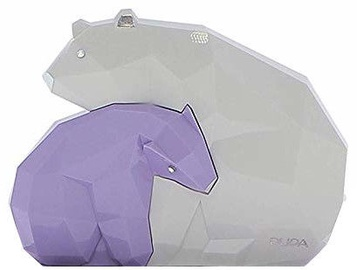 Pupa Be My Bear Medium Make-Up Palette Purple/White