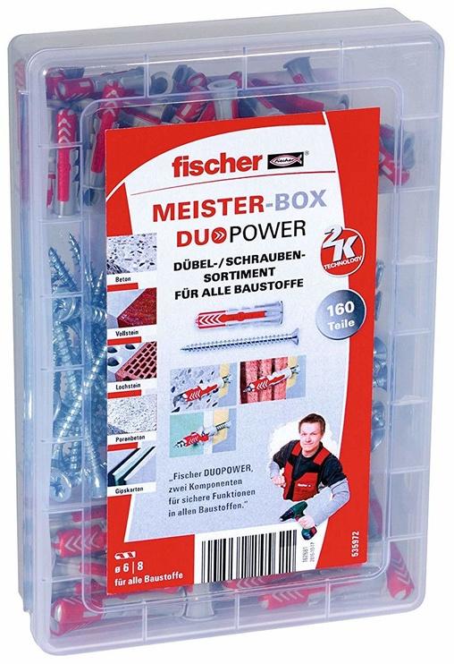 Fischer DuoPower Dowel Meister-Box 160pcs