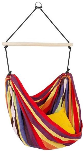 Šūpuļtīkls-krēsls Amazonas Kid's Relax Rainbow