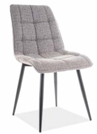 Ēdamistabas krēsls Signal Meble Chic Grey, 1 gab.