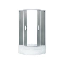 Dušas kabīne Erlit 05509T-C4, pusapaļā, 900x900x1950 mm