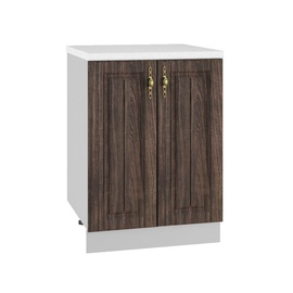 DSV Imperia S 600 Kitchen Cabinet Walnut