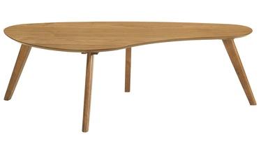 Kafijas galdiņš Home4you Scarlett Oak, 1200x600x380 mm