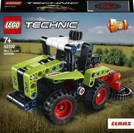 Konstruktors LEGO Technic Mini CLAAS Xerion 42102, 130 gab.
