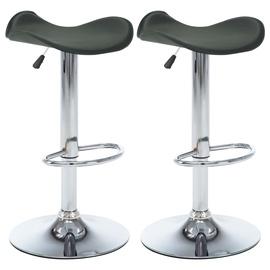 Bāra krēsls VLX Bar Chairs 324735, pelēka, 2 gab.