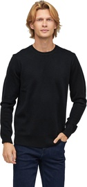 Audimas Merino Woll Blend Sweater Black L