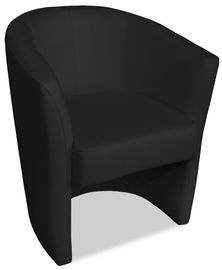 Atzveltnes krēsls Platan Oxford Black, 67x68x78 cm