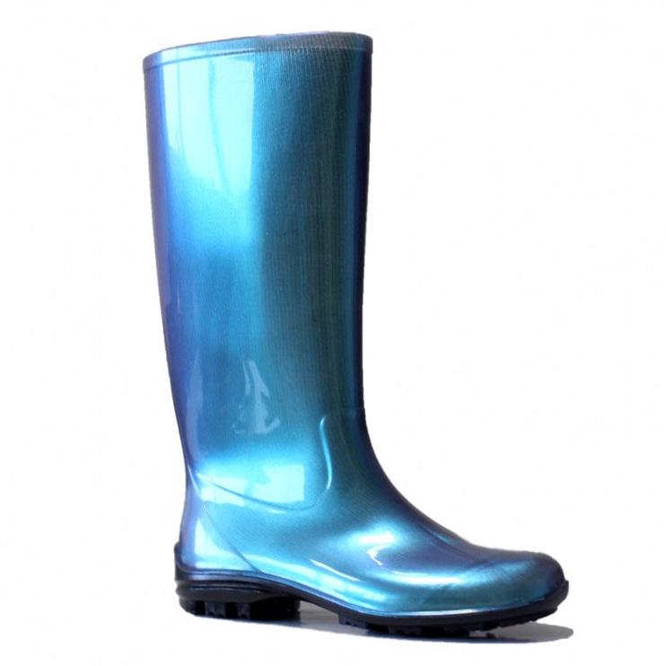Резиновые сапоги SN Womens Long Rubber Boots 100P 38 Blue