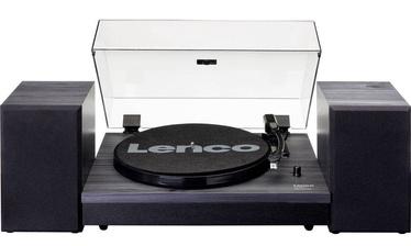 Plašu atskaņotājs (patefons) Lenco LS-300 Turntable With Separate Speakers Black