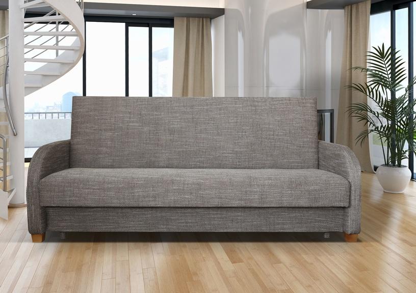 Dīvāngulta Platan Magma Magma 04 Grey, 188 x 85 x 90 cm