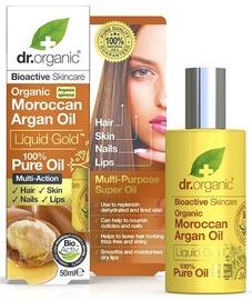 Масло для тела Dr. Organic Pure Moroccan Argan Oil, 50 мл