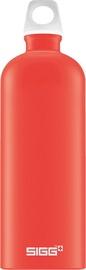 Sigg Water Bottle Lucid Scarlet Red 1L