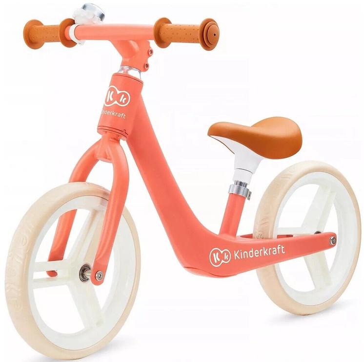 Балансирующий велосипед KinderKraft Fly Plus Magic Coral