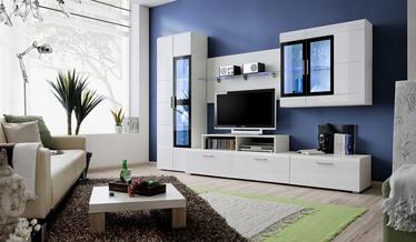 Dzīvojamās istabas mēbeļu komplekts ASM Krone II White
