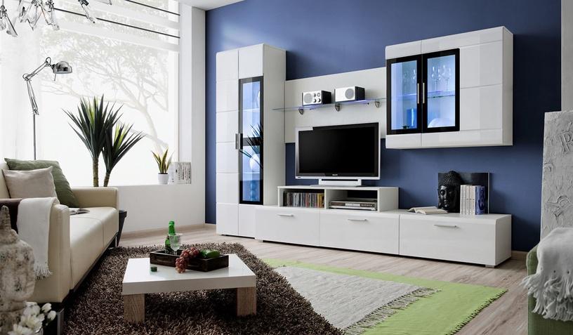 ASM Krone II Living Room Wall Unit Set White