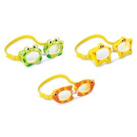 Peldēšanas brilles Intex 55603, zila/dzeltena/rozā/