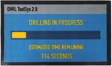 Licenced Pay Day 2 Drilling In Progress Entrance Mat 75.5x44cm