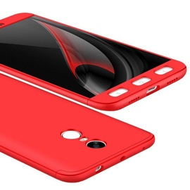 Hurtel 360 Protection Full Body Cover For Xiaomi Redmi Note 4 Red
