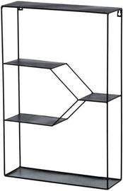 4Living Wall Shelf Black