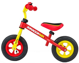 Velosipēds Milly Mally Dragon Air Balance Bike Yellow Red 2800