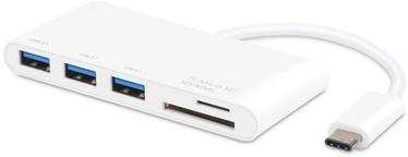 USB sadalītājs (USB hub) Vivanco USB Type-C Card Reader/Hub 45387