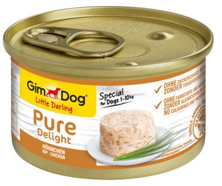 Gimborn Gimdog Food Little Darling Pure Delight w/ Chicken In Jelly 85g