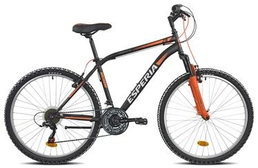 """Велосипед Esperia 8250, черный/oранжевый, 17.5"""", 26″"""