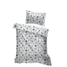 Lotte Bed Linen Set 150x210 Lotte Blue