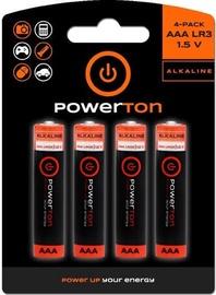 Powerton LR03 Alkaline Battery AAA 4x