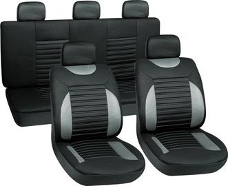 Autoserio Seat Cover Set AG-28707/4 8pcs Gray
