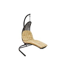 Dārza krēsls Masterjero Y9088, melna