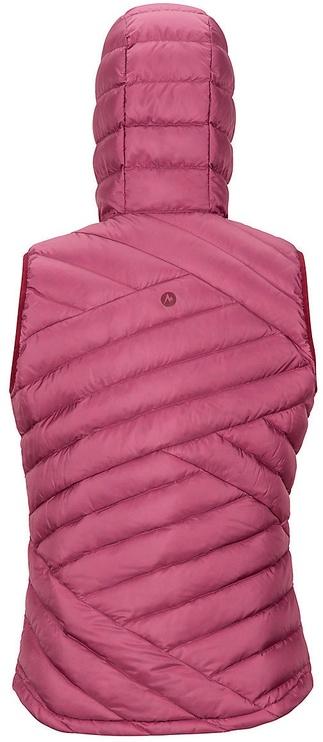 Marmot Womens Highlander Hoody Vest Dry Rose M