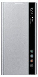 Samsung Clear View Case For Samsung Galaxy Note 10 Silver