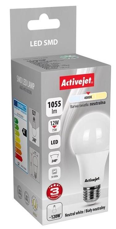 ActiveJet Bulb LED 12 W 1055lm E27