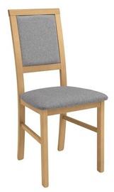 Ēdamistabas krēsls Black Red White Robi Grey/Brown