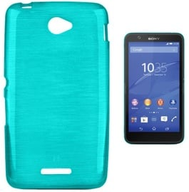 Forcell Jelly Brush Back Case For Sony E2104/E2105 Xperia E4 Blue