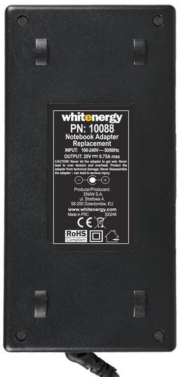 Whitenergy AC Adapter For Lenovo 135W