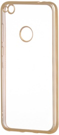 Hurtel Metalic Slim Back Case For Huawei P9 Lite 2017 Gold