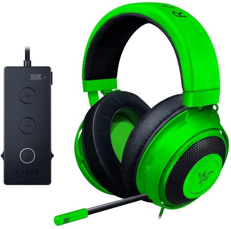 Spēļu austiņas Razer Kraken Tournament Edition Green