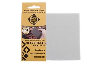 Slīpēšanas sūklis Forte Tools, NR100, 140x115x5 mm, 1 gab.