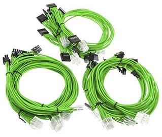 Super Flower Sleeve Cable Kit Green