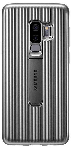 Samsung Protective Standing Cover For Samsung Galaxy S9 Plus Silver