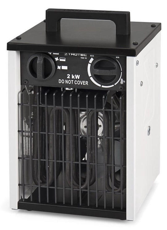 Электрический нагреватель Trotec TDS 10 White/Black