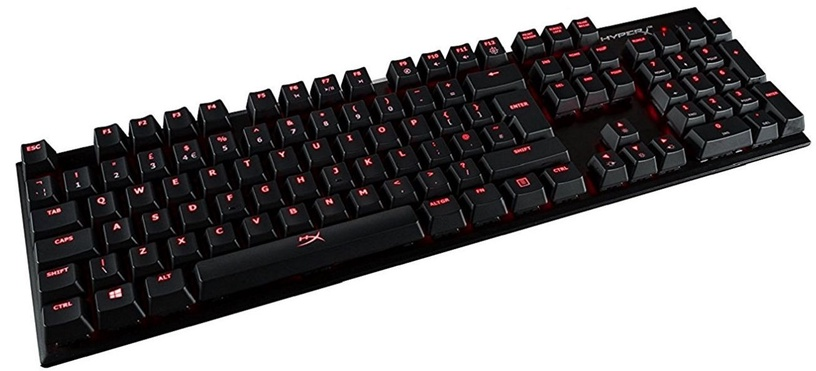 Kingston HyperX Alloy Mechanical Gaming Keyboard Brown ENG